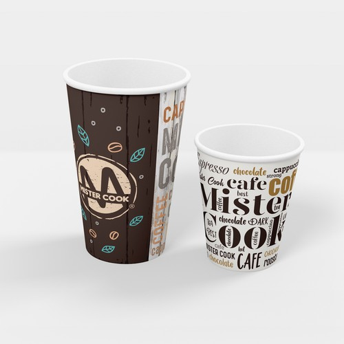 Mister Cook - Coffee Cup Design
