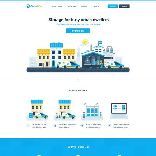 Flat Creative Webdesign