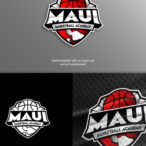 Sport logo concept for basketball team