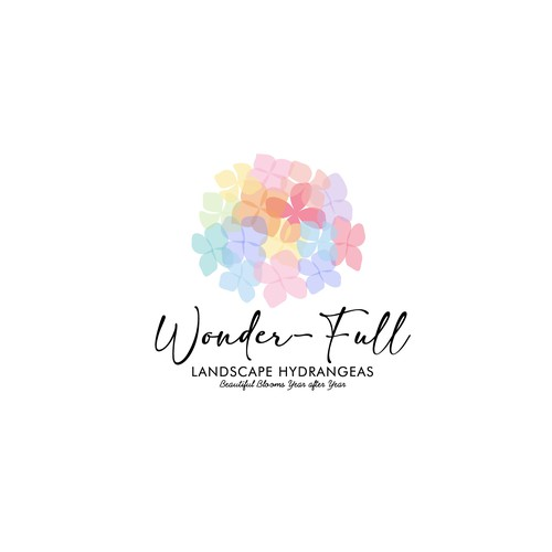 logo for a new brand of HYDRANGEA plants!
