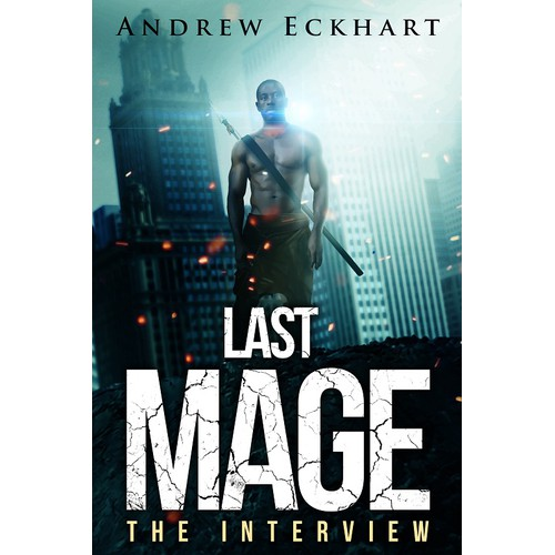 Create a spectacular cover for the Last Mage Trilogy