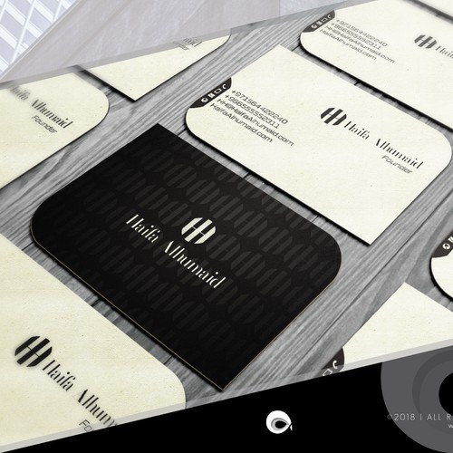 Business Card for a Fashion Designer