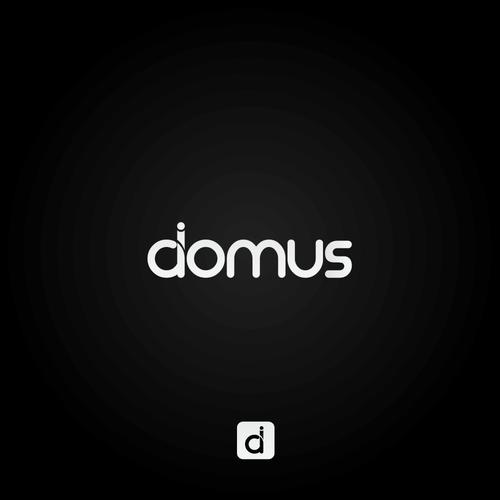 Simple & modern logo for domus.ai