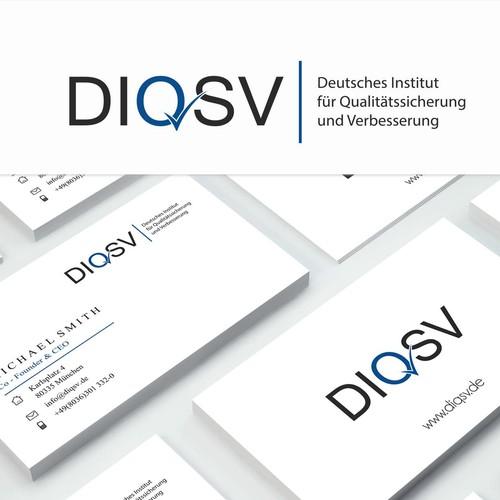 Logo concept for Deutsches Institut für Qualitätssicherung und Verbesserung