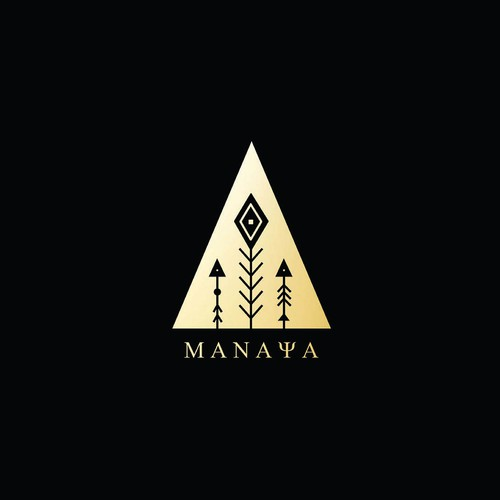 Bold logo concept for MANAYA new concept store