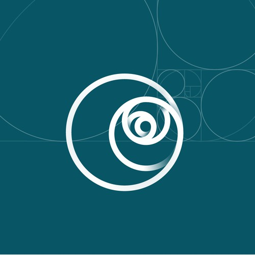 Golden ratio logo design for sale
