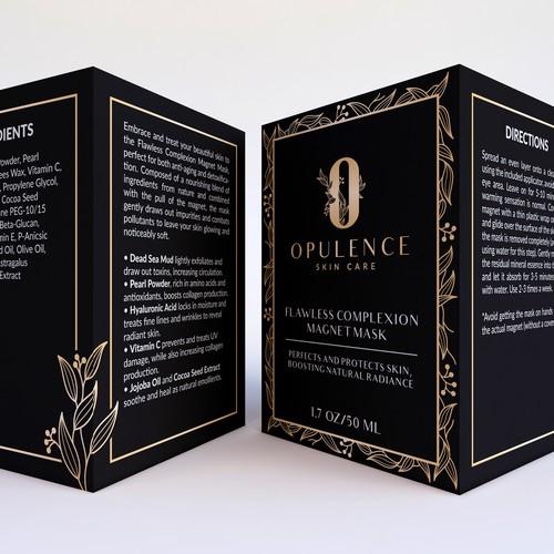 Opulence Skin Care Packaging Design