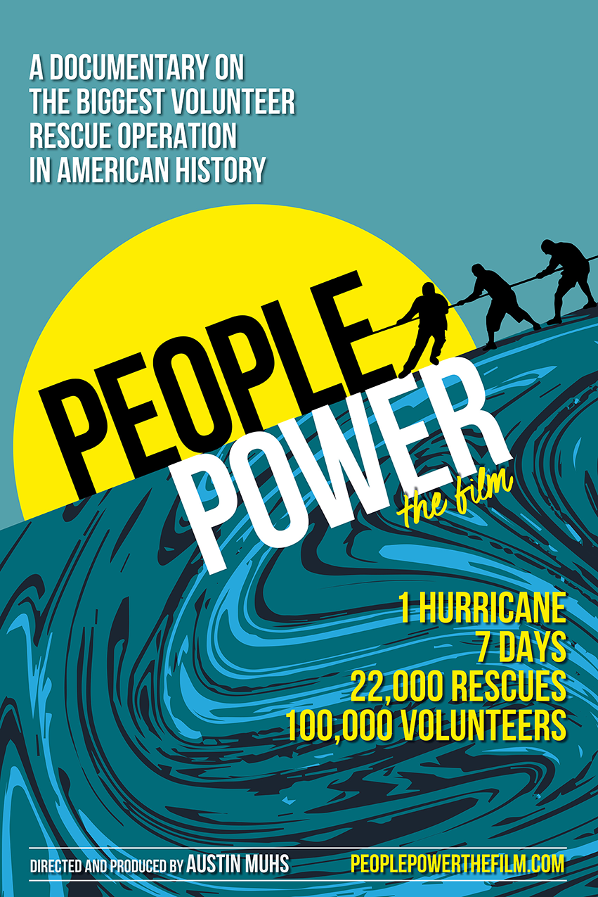 """Stunning Movie Poster for """"People Power"""" a (soon to be ;) !) Widely Publicized Documentary"""