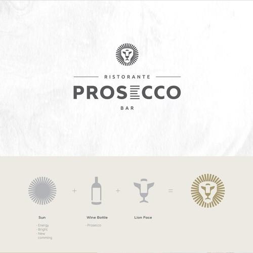 Logo concept for Italian Restaurant & Bar