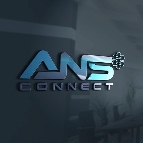 Logo for a fiber optic company