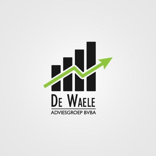 Make the new logo for De Waele Adviesgroep