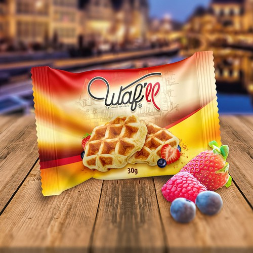Packaging for waffles