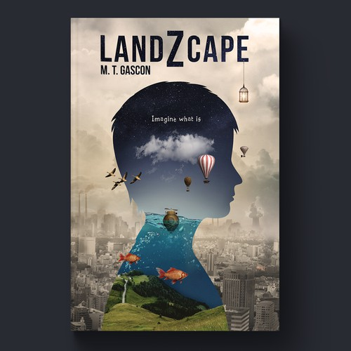 """LandZcape"" book cover"