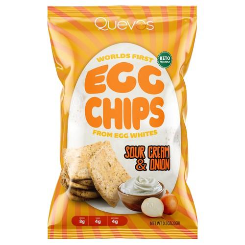 Egg Chips package design