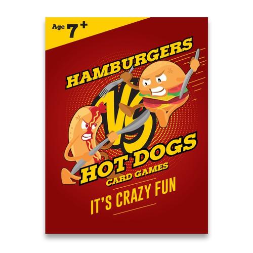 Hamburgers vs Hotdogs