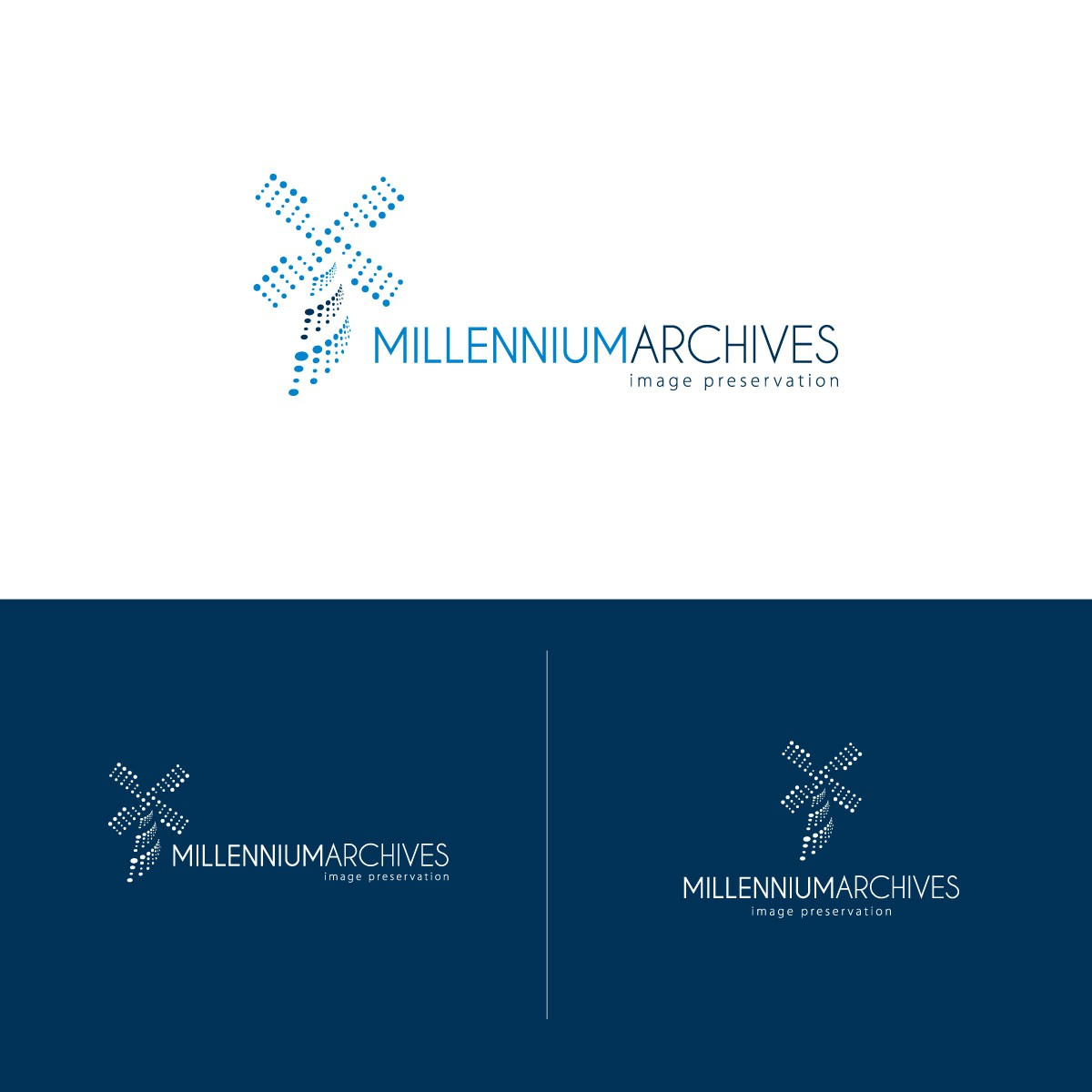 Create the next logo for Millennium Archives