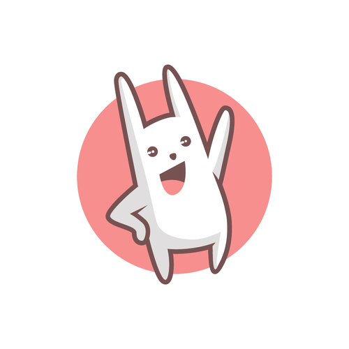 Rabbit character for Tmoji