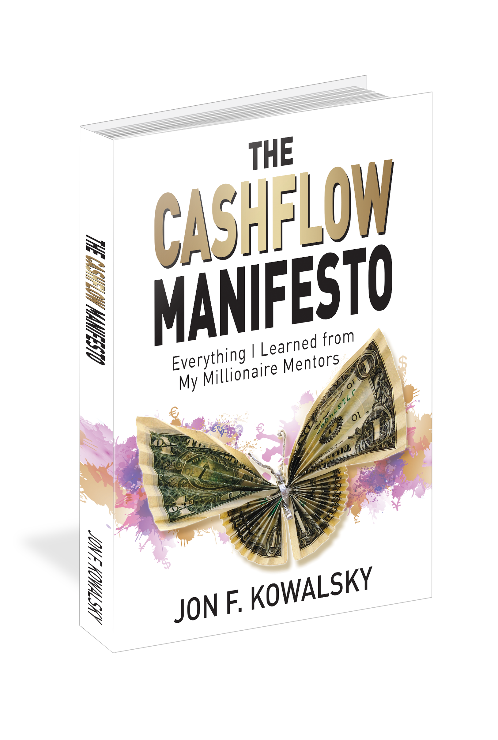 Design a cover for a Revolutionary Book on Financial Independence