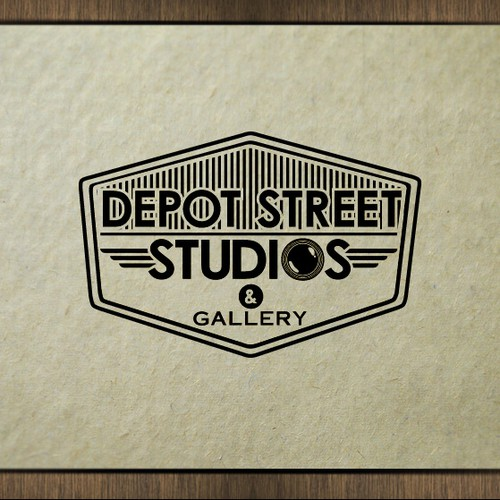 Logo Design for Depot Street Studio