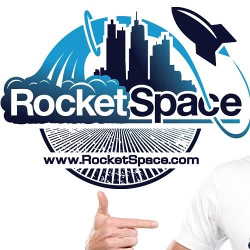 RocketSpace 2015 Logo Tshirt Design