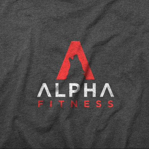 Wolf logo for Alpha fitness