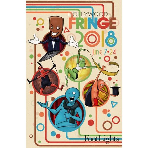 Guide Cover for the 2018 Hollywood Fringe Festival