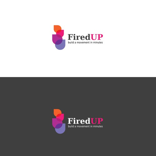 Logo concept for FiredUp