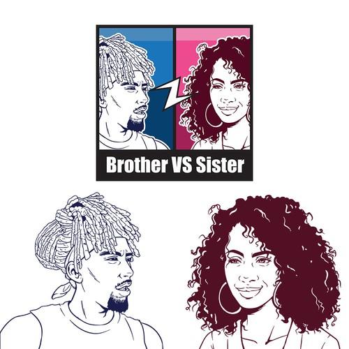 Logo Making using Semi Realistic Cartoon
