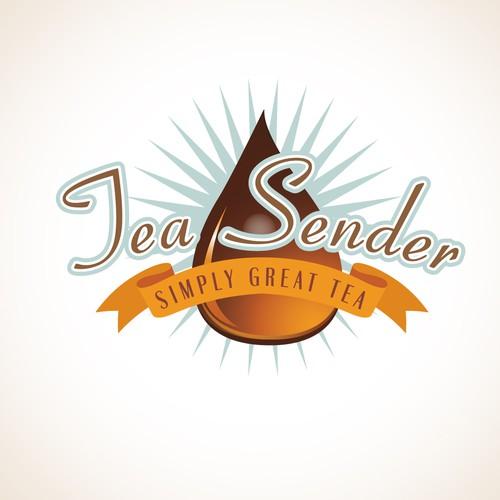 Logo for online tea distributor