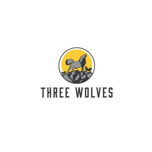 Logo concept Wolf