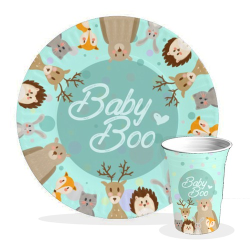 Design for Babyshower Merchandise