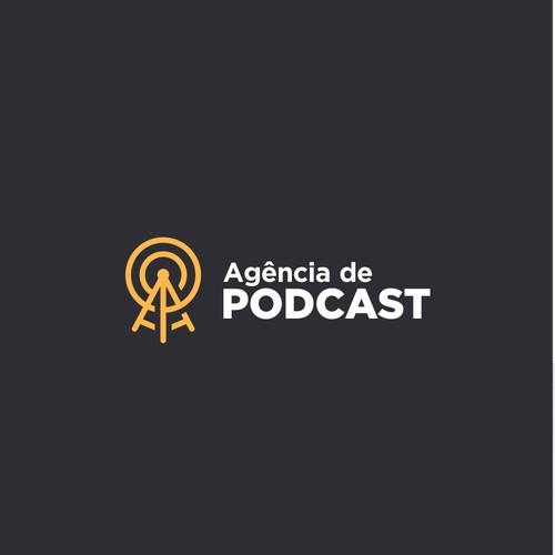 Podcast Agency Logo
