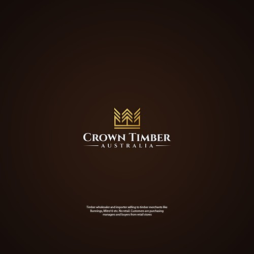 Crown timber