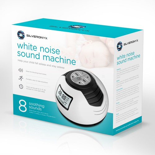 Packaging Design for a Sound Machine for Children