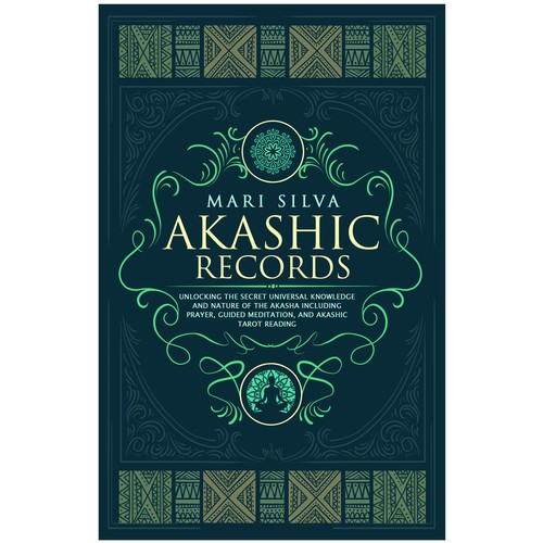 AKASHIC RECORDS (Book cover design)