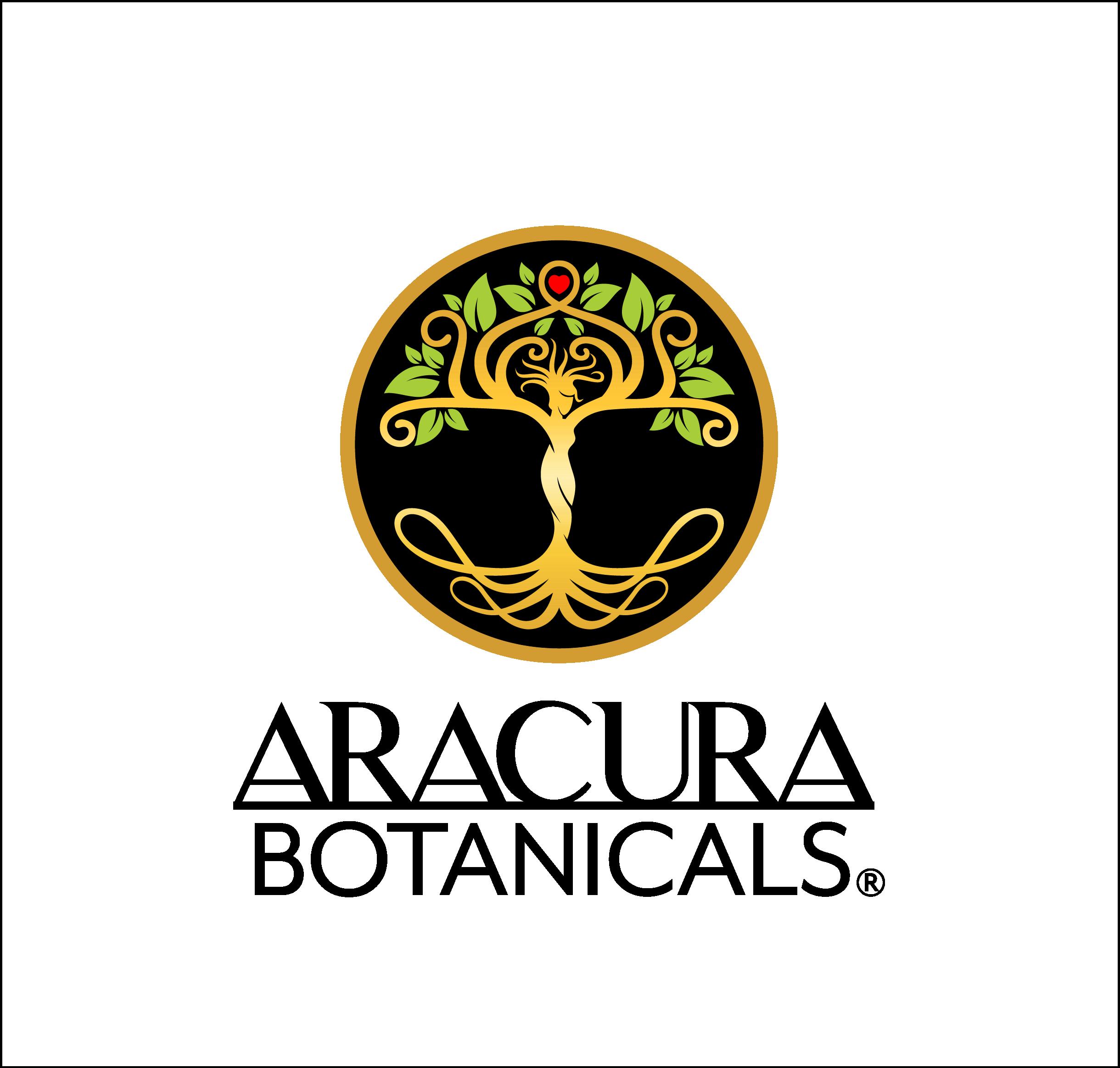 Aracura Botanicals Logo Redesign