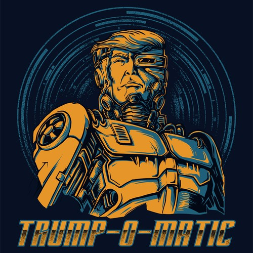 Trump O Matic - Tshirt Design