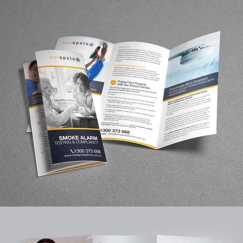 Hot Spots Smoke Alarm Compliance Brochure