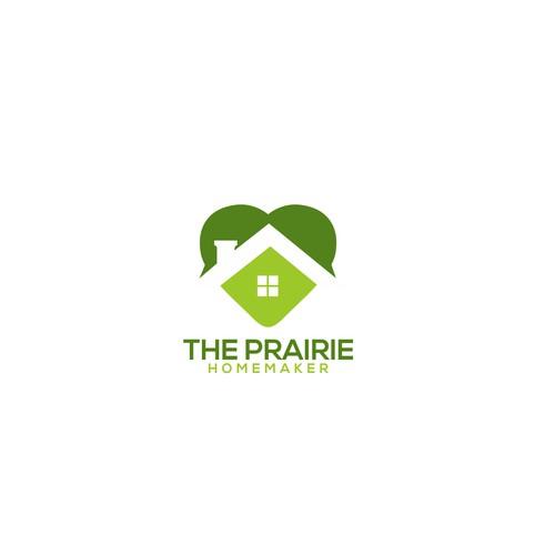 concept logo for prairie homemaker