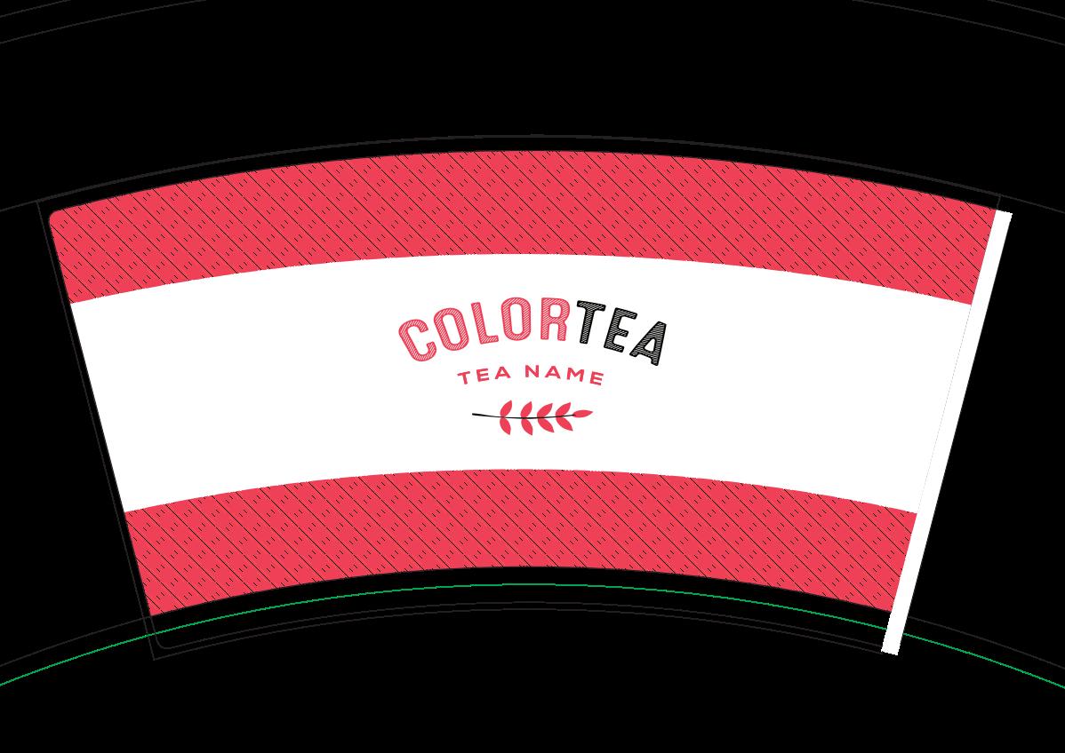 paper cup design for. ColorTEA