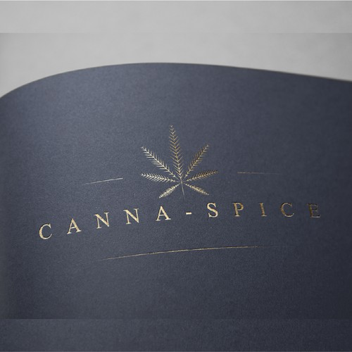 Luxury logo for spice edible
