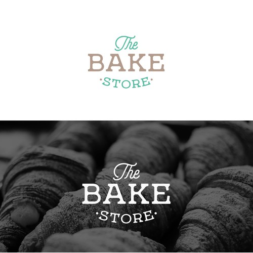 Logo concept for The Bake Store