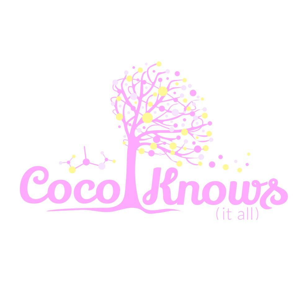 Create a pretty logo for a beauty blog