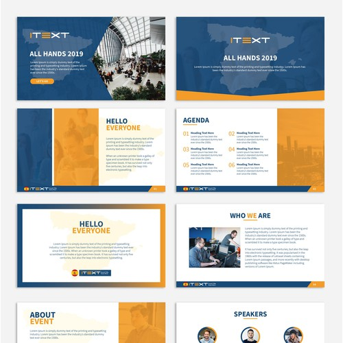 Powerpoint Template for Event