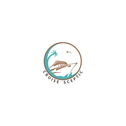 Logo for a cruse ship