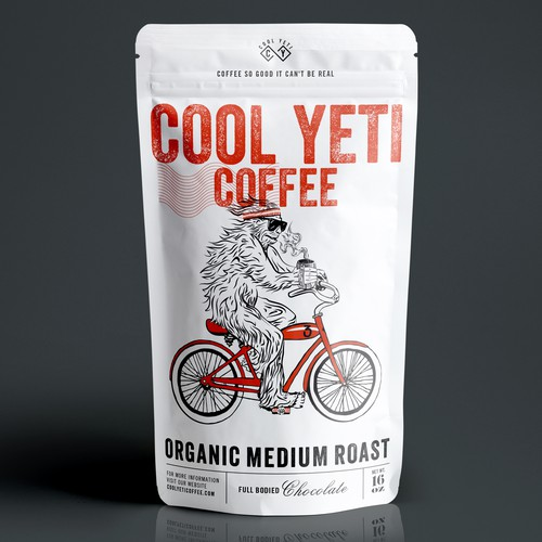 COFFEE PACKAGING DESIGN FOR COOL YETI