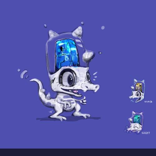 Cute Mascot for Software Company