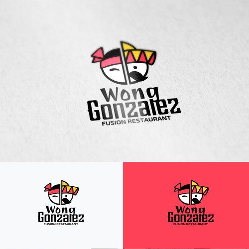 Chinese/Mexican restaurant Logo