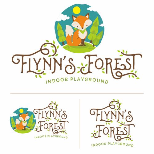 Flynn's forest logo