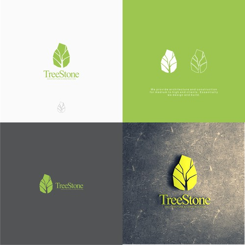 logo for tree stone